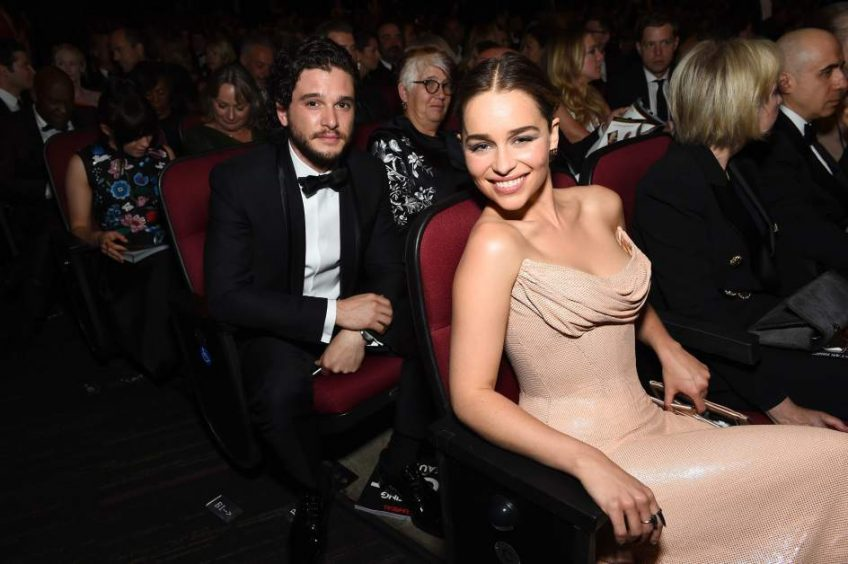 Emilia Clarke Y Kit Harington dos fichajes estrella de DOLCE&GABBANA